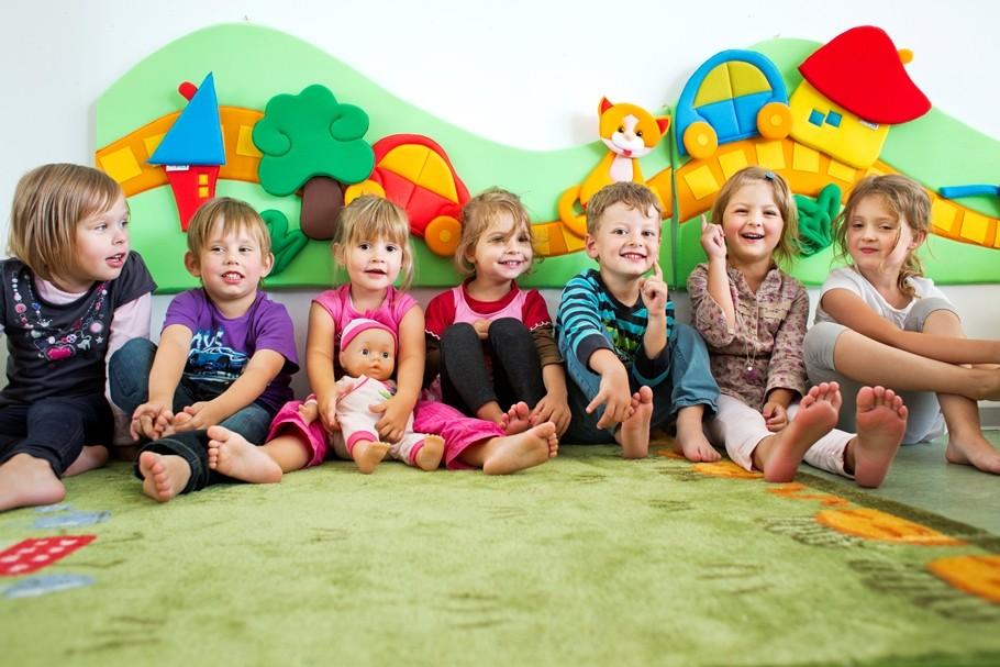 Die Kinder fühlen sich wohl im LTS Wichtelgarten