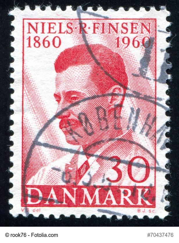 Niels Finsen erforschte Hautkrankheiten und erhielt 1903 den Nobelpreis