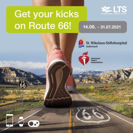 Runner on Road 66