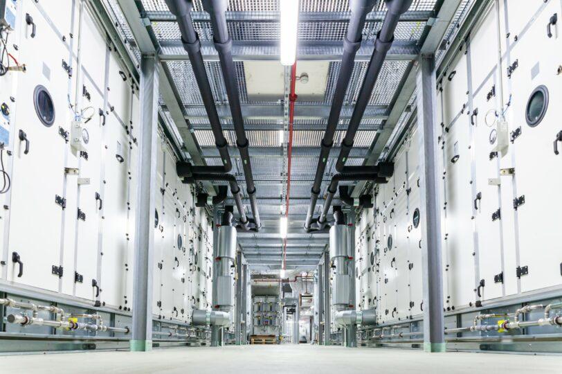 Klimaanlage Produktionsgebaeude