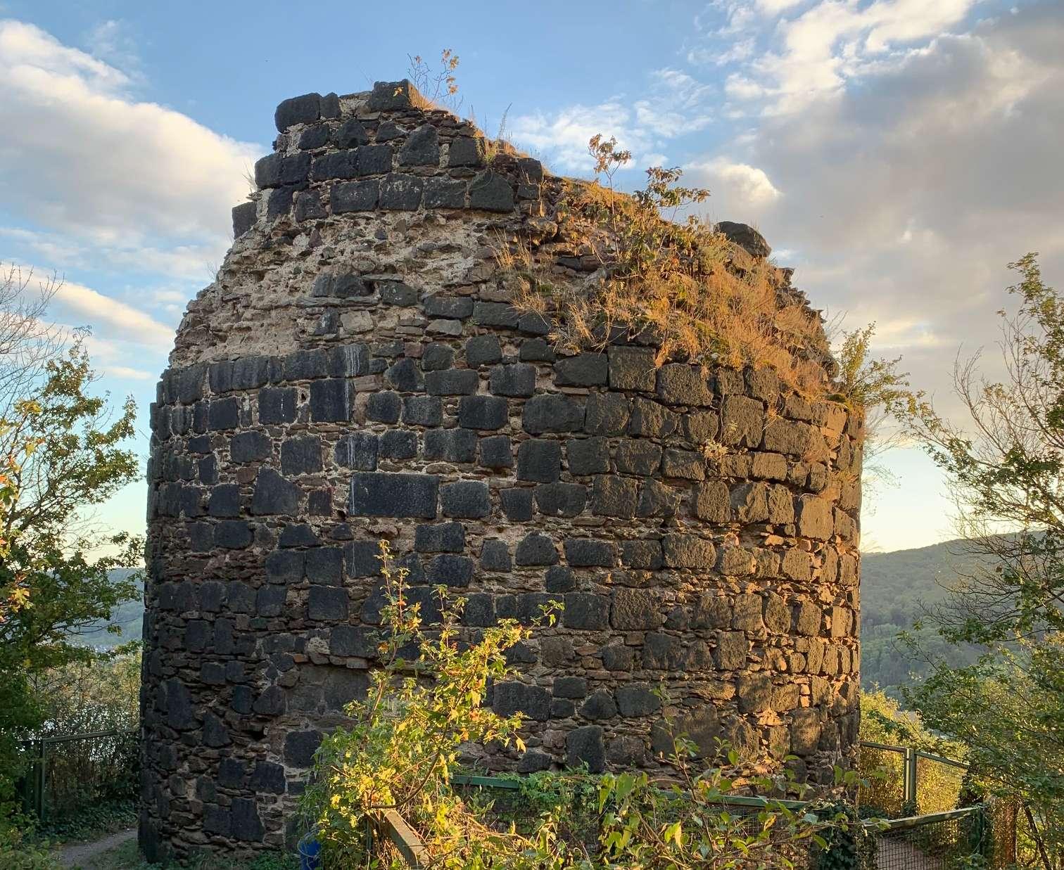Die Ruine der Burg Hammerstein