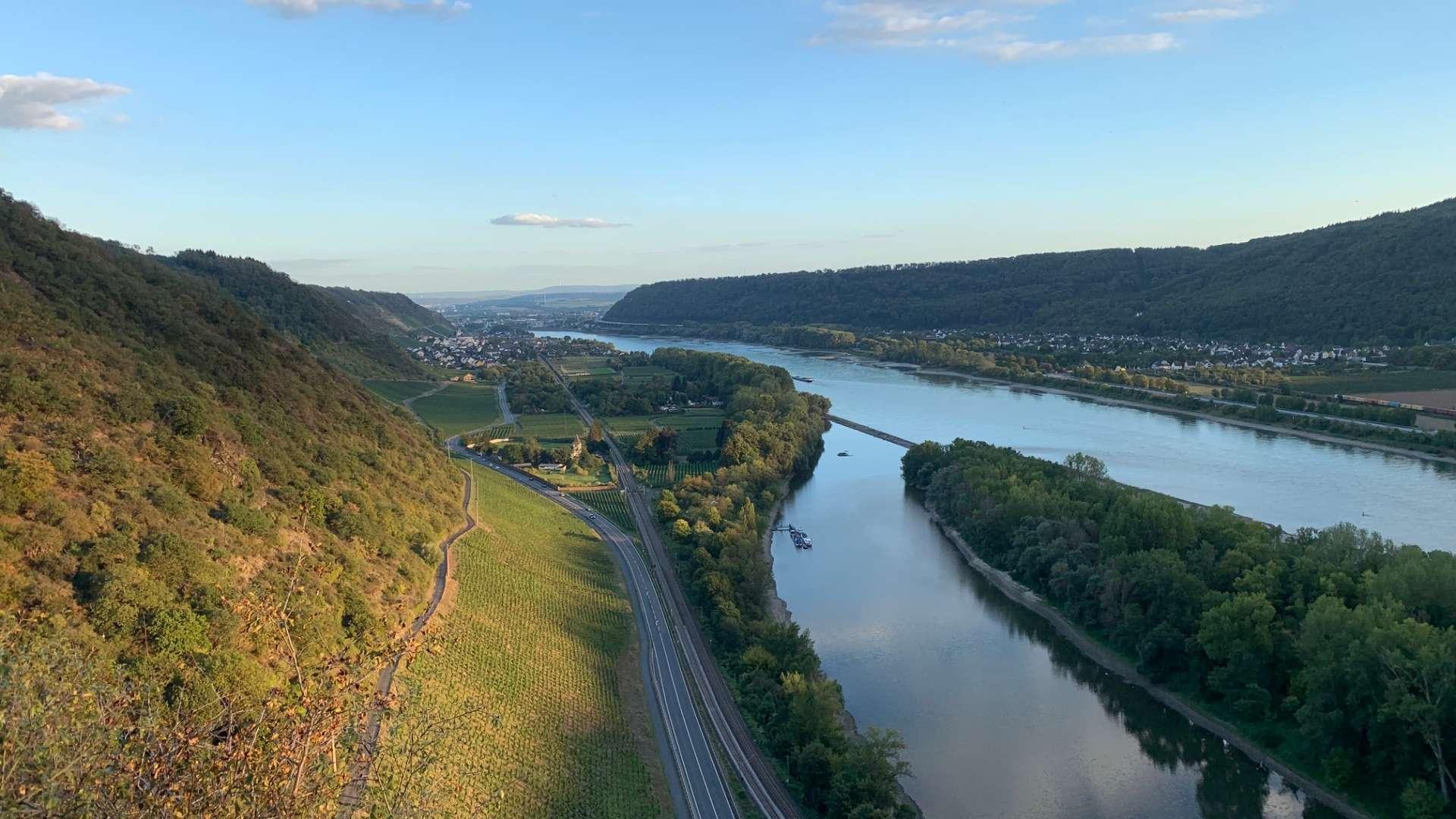 Rheinromantik bei Andernach