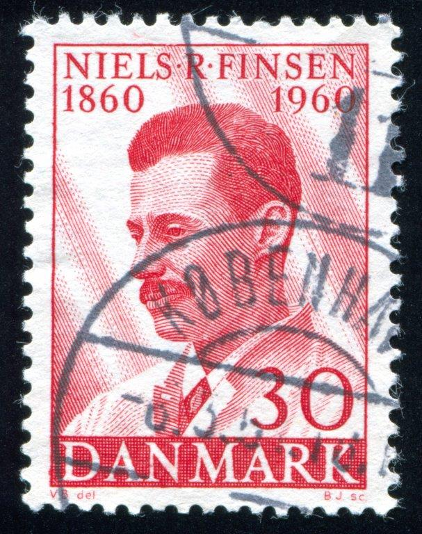 Niels Finsen erhielt 1903 den Nobelpreis